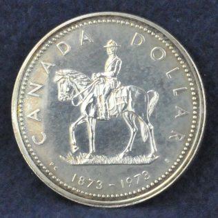 RCMP Canada Dollar 1873-1973