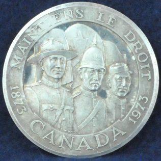 RCMP Centennial Maintiens Le Droit silver