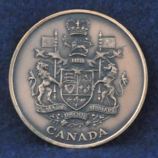 RCMP Coat of Arms Canada bronze