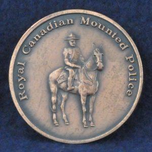 RCMP Coat of Arms Canada bronze