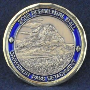 RCMP Crowsnest Pass Detachment 2012 Regimental Ball