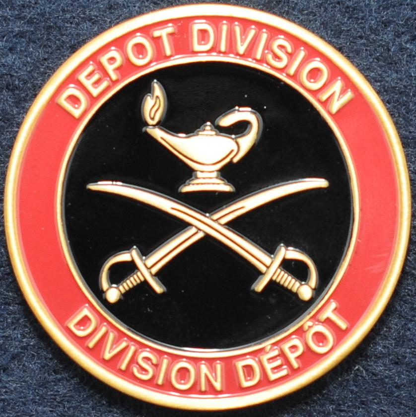 RCMP Depot Division (Bronze) - Challengecoins.ca