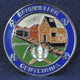 RCMP K Division Drumheller Centennial