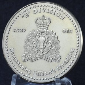 RCMP E Division Commanding Officer's Medallion 2