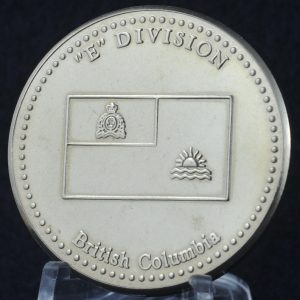 RCMP E Division Commanding Officer's Medallion