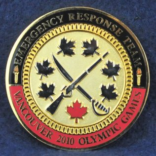 RCMP Emergency Response Team Vancouver 2010 Olympic Games