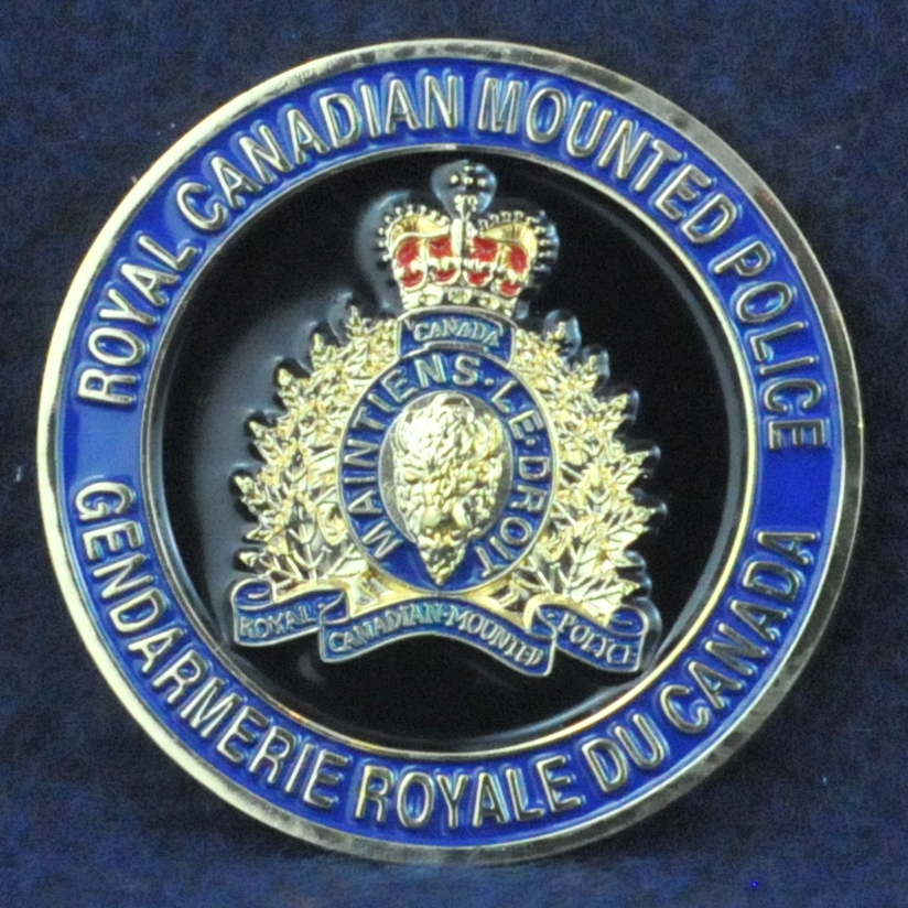 Rcmp F Division South District Challengecoins Ca