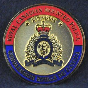 RCMP K Division Saint Michael