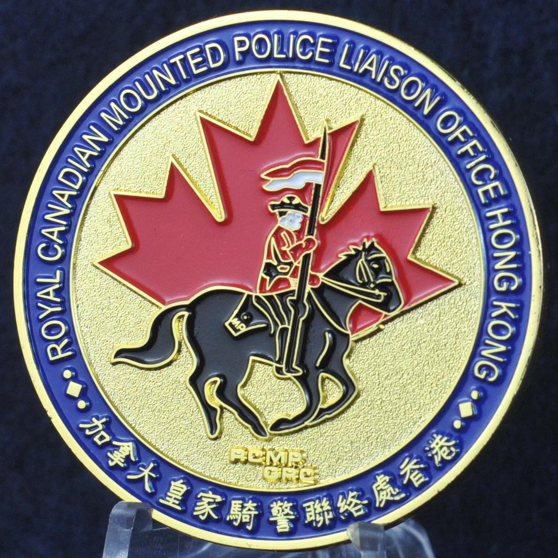 RCMP Liaison Officer Hong Kong - Challengecoins.ca