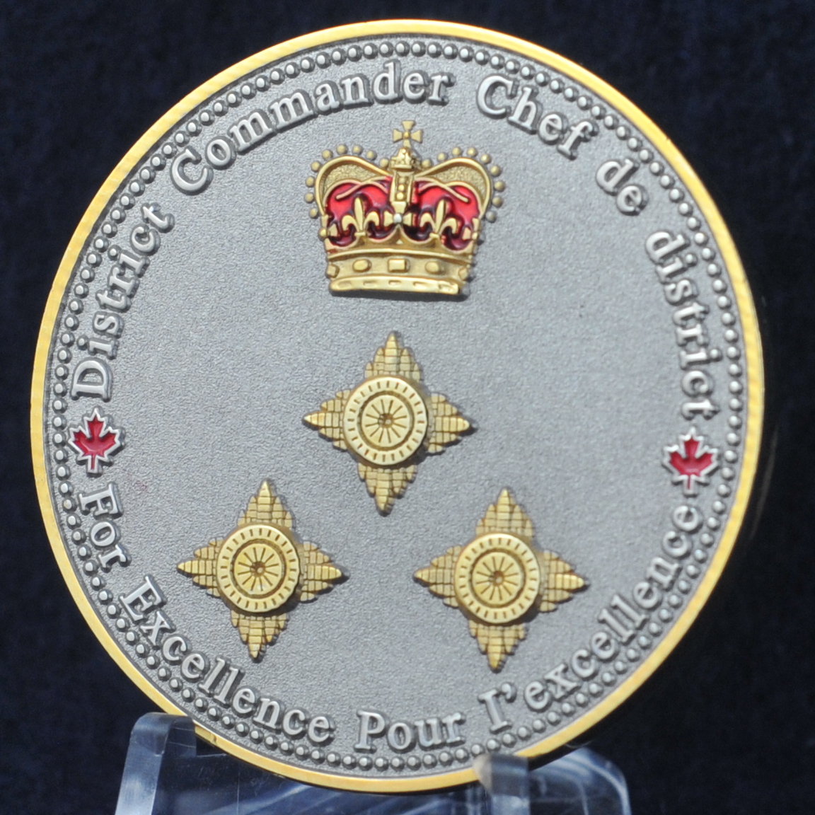 RCMP Lower Mainland District Commander - Challengecoins.ca