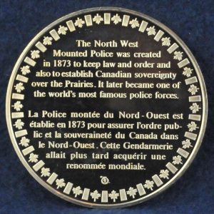 RCMP North West Mounted Police Founded 2