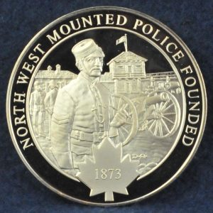 RCMP North West Mounted Police Founded