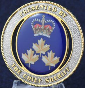 Alberta Chief Sheriff
