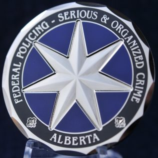 RCMP K Division Federal Policing Serious and Organized Crime Alberta