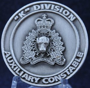 RCMP K Division Auxiliary Constable
