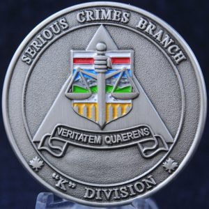 RCMP Serious Crime Branch Alberta