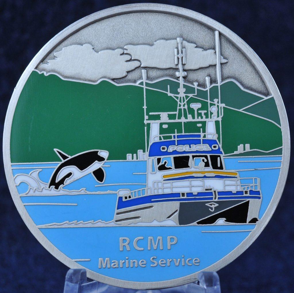 RCMP E Division West Coast Marine Service | Challengecoins ca