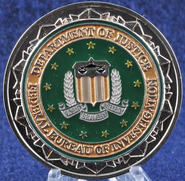 US Federal Bureau of Investigation FBI New York Office ...