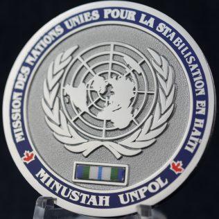 United Nations Haiti Minustah UNPOL