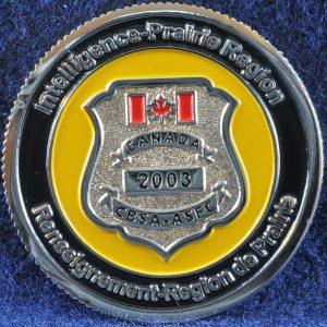 Canada Border Services Agency Intelligence Prairie Region 2