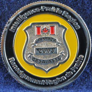 Canada Border Services Agency Intelligence Prairie Region