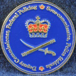 RCMP Deputy Commissioner Federal Policing