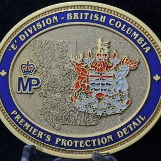 RCMP E Division Premier's Protection Detail