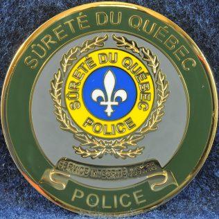 Surete du Quebec Crime Contre la Personne