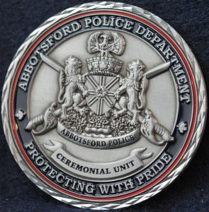 Abbotsford Police Department Cermonial Unit 2