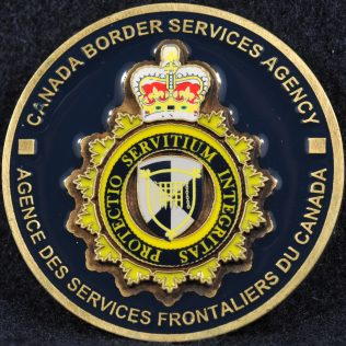 Canada Border Services Agency (CBSA) General coin
