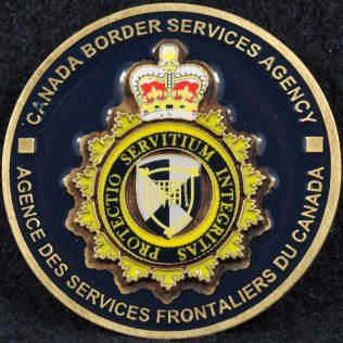 Canada Border Services Agency (CBSA) General coin