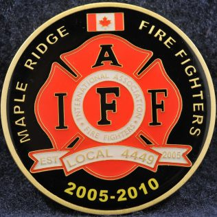 Maple Ridge Fire Fighters 2005-2010