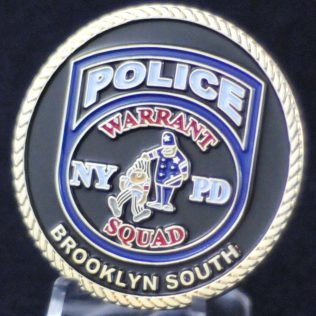 NYPD Warrant Squad Brooklyn South