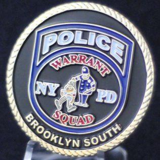 NYPD Warrant Squad Brooklyn South