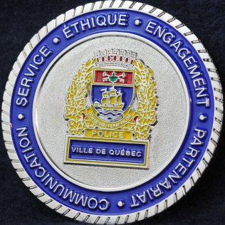 Police Ville de Quebec 2015 Canadian Association of Chiefs of Police