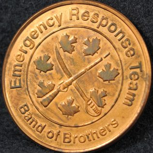 RCMP E Division Emergency Response Team