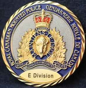 RCMP E Division Federal Serious and Organized Crime (FSOC) 2