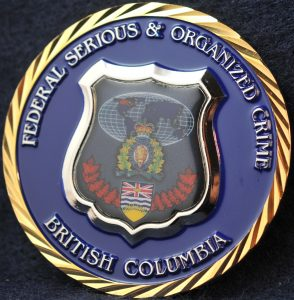 RCMP E Division Federal Serious and Organized Crime (FSOC)