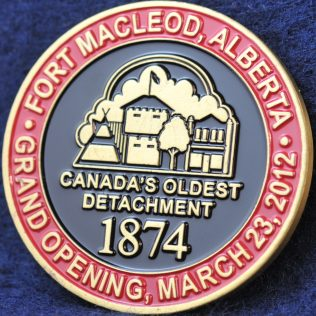 RCMP K Division Fort MacLeod Canada Oldest Detachment 1874