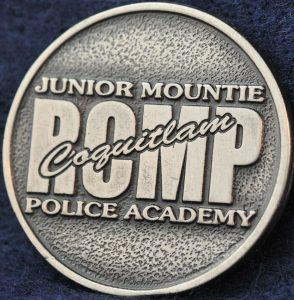 RCMP Junior Mountie Coquitlam Police Academy 2