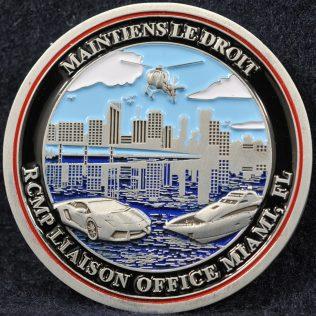 RCMP Liaison Officer Miami