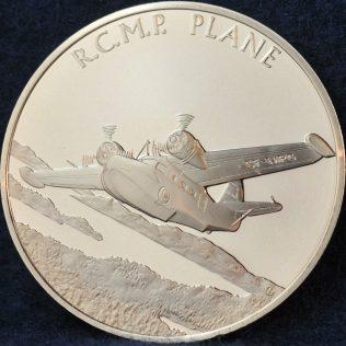 RCMP Plane