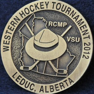 RCMP Western Hockey Tournament 2012 Leduc, Alberta
