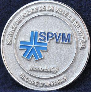 Service de Police de la ville de Montreal - Groupe d'Apparat 20th Anniversary 2