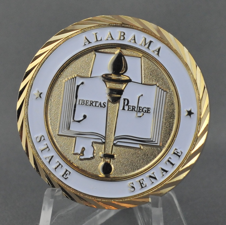 State of Alabama Senate Secretary - Challengecoins ca