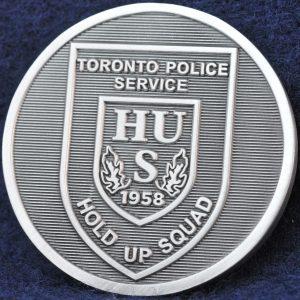 Toronto Police Service Hold Up Squad