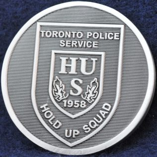 Toronto Police Service Hold Up Squad