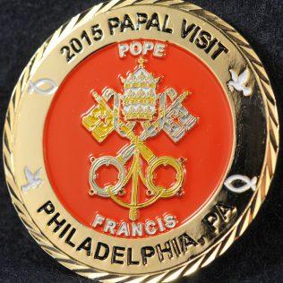 US Amtrak Railroad Police 2015 Papal Visit