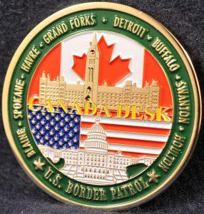 US Border Patrol Canada Desk