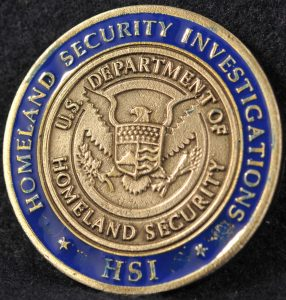 US Homeland Security Investigations HSI Boston, MA 2